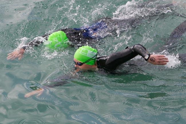 paratriathlon swim